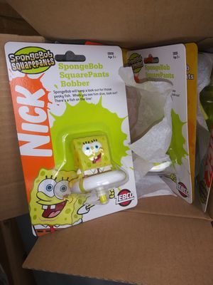 6 New Sponge Bob Fishing Bobbers for Sale in Crest Hill, IL