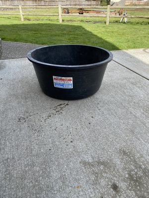 25 gallon round tub for Sale in Yelm, WA