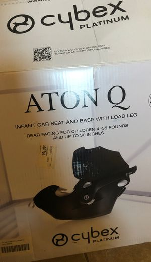 Aton Q infant car seat for Sale in Ruskin, FL