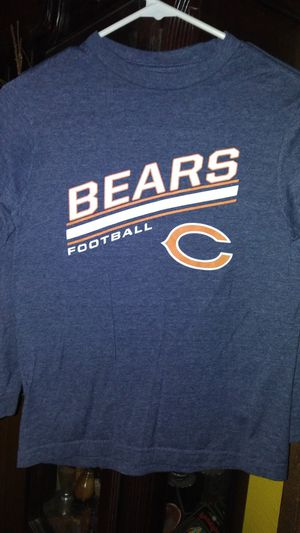 Chicago Bears long sleeve shirt kids size 10-12 for Sale in Garland, TX