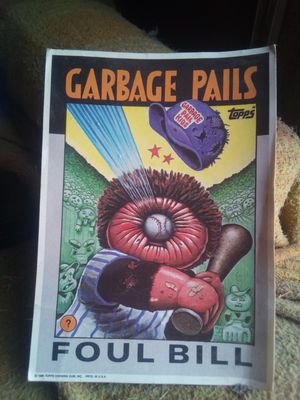 Topps over size garbage pail kids card for Sale in Ontario, CA