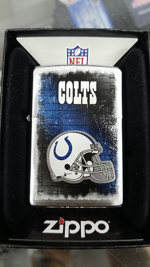 Zippo NFL colts brushed chrome 28205 for Sale in Los Angeles, CA