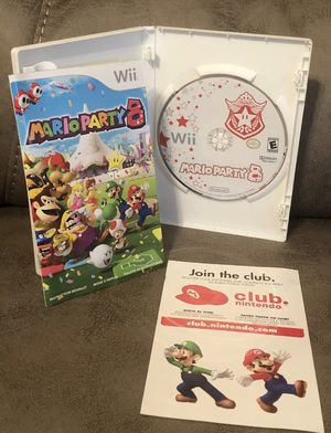 Mario Party 8 Wii Complete in box with Manual for Sale in Cuero, TX