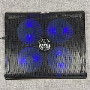 LAPTOP COOLING PAD with 4 Blue Lighted Fans Dual USB Ports for Sale in Shalimar, FL