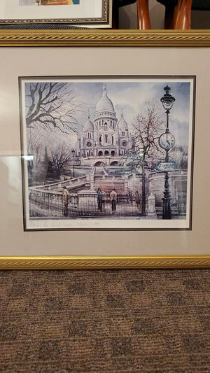Framed prints. Paris for Sale in Midlothian, VA