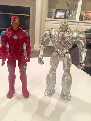 TRANSFORMER OR IRONMAN FIGURES 11 1/2 INCHES - $9.00 EACH for Sale in Modesto, CA