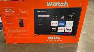 """Brand new ROKU ONN TV 50"""" inch! Open box w/warranty T for Sale in Dallas, TX"""