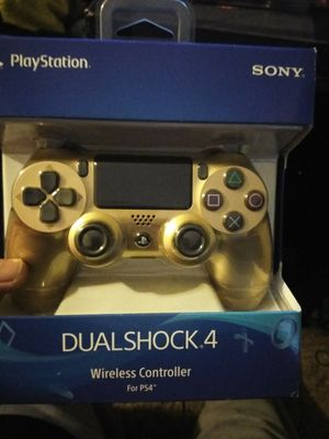 Brand new PS4 gold controller for Sale in Phoenix, AZ