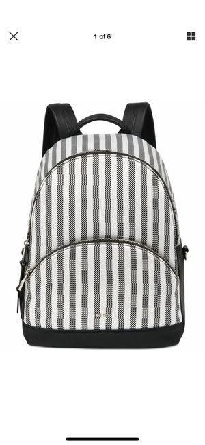 Nine West small backpack purse black/white for Sale in Norton, MA