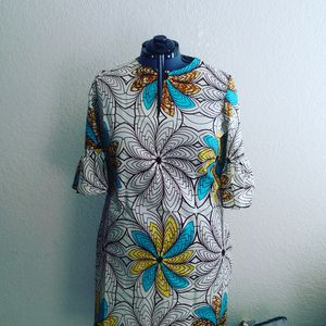 African Print bell sleeve dress for Sale in Sacramento, CA