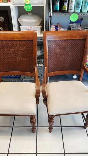 TWO. 2 CHAIRS. GOOD SHAPE. for Sale in Fort Lauderdale, FL