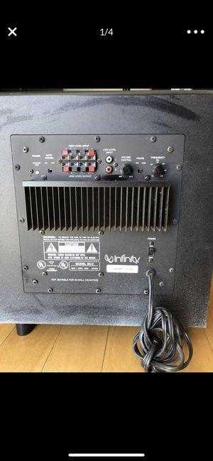 "Infinity BU-2 Powered Subwoofer 12"" Speaker Sub 100 Watt. for Sale in Mountain View, CA"