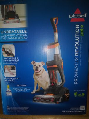 BISSELL PROHEAT 2X REVOLUTION PET CARPET STEAM CLEA.NER for Sale in Phillips Ranch, CA