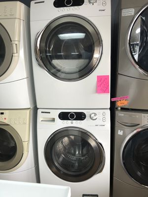 Samsung white front load washer and dryer for Sale in Woodbridge, VA