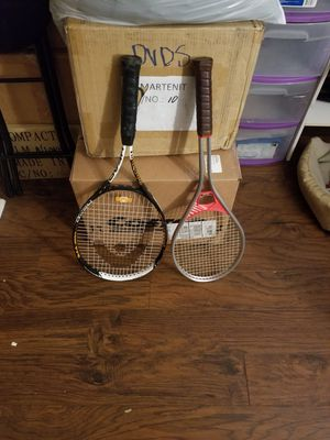 2 tennis rackets for Sale in Mission Viejo, CA