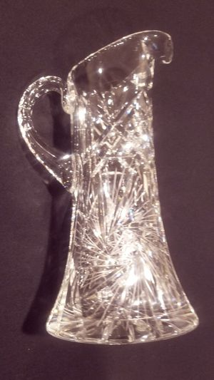 Vintage American Standard Crystal Water Pitcher for Sale in Thornton, CO