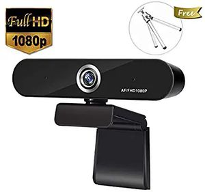 Full 1080P Webcam, Auto Focus Computer Camera, Face Cam with Dual Microphone for PC, Laptops and Desktop,90 Degree Extended View for Sale in Altamonte Springs, FL