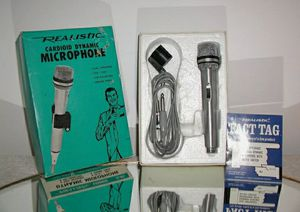 Realistic,Vintage Microphone, Complete In Box! for Sale in Palatine, IL