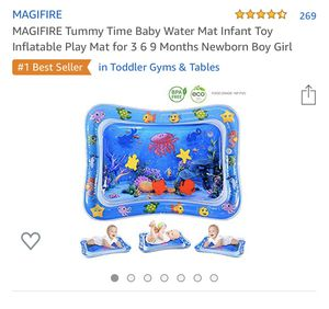 Tummy time water play mat for Sale in Riverside, CA