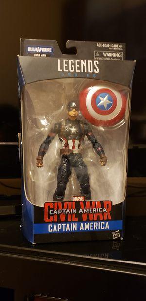 Marvel Legends Captain America Civil War 2016 for Sale in Pflugerville, TX