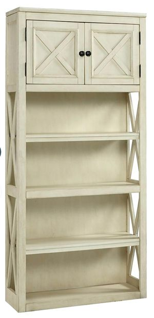Brand new White/Oak Large Bookcase | H647 for Sale in Houston, TX
