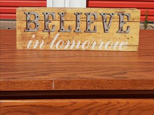 Decorative sign Peoria local only pick up for Sale in Peoria, IL