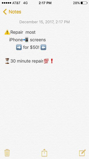 Fix iPhone screen for Sale in Portland, OR