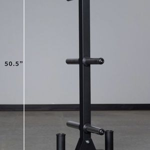 **BRAND NEW** RepFitness WEIGHT PLATE STORAGE TREE w/ BAR HOLDER for Sale in El Monte, CA