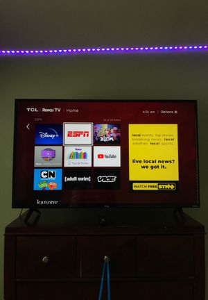 "TCL 43"" Class 4K UHD LED Smart Roku TV for Sale in Olympia, WA"