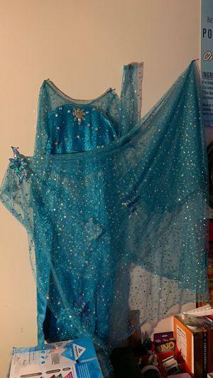 7-8 handmade Elsa dress for Sale in Virginia Beach, VA