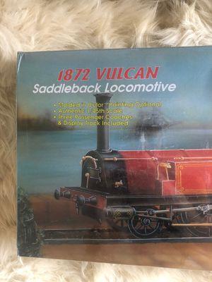 1872 VULCAN Saddleback locomotive Minecraft hobby model kit for Sale in Oceanside, CA
