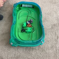 Beyblade Ring And beyblades for Sale in Victorville,  CA