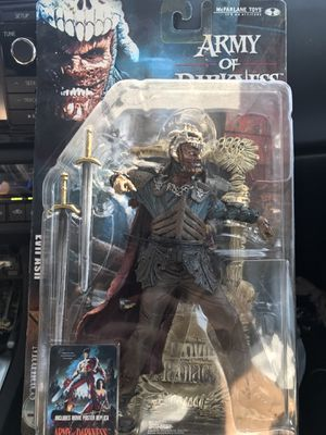 Mcfarlane Toys Movie Maniacs - Army of Darkness ( Evil Ash ) for Sale in Las Vegas, NV