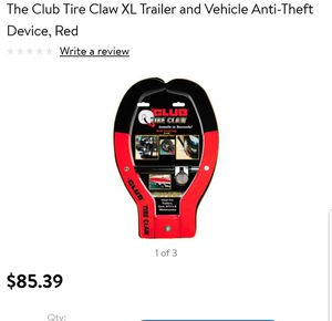 The Club 491 Tire Claw XL Security for Sale in Oxon Hill, MD