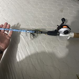 Profishiency Baitcaster Fishing Rod W/ Pfleuger Baitcaster for Sale in Whittier, CA