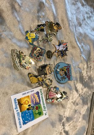 Disney Collectable Pins for Sale in Glendale, AZ