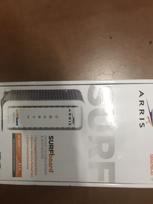 Arris modem and wi-fi router for Sale in Ellenwood, GA