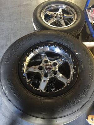 11-14 Mustang Race Star Wheels and Tires for Sale in Corona, CA