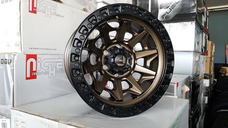 17X9 6X135 -12 FUEL COVERT FORD 6 LUG WHEELS FINACE OPTIONS ARE AVAILABLE FOR AS LOW AS $1 for Sale in Portland,  OR