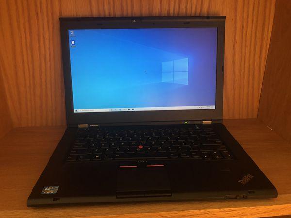 Refurbished Black Lenovo Laptop