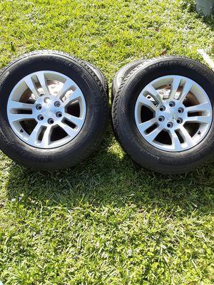 Tahoe tires rims 265/65/r18 for Sale in Oakland Park, FL