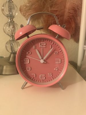 Pink Alarm Clock for Sale in Los Angeles, CA