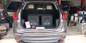 DOPE SYSTEM BUT..... whos installing it?! HIT ME UP! Subs amps stereo ect.... for Sale in Denver, CO