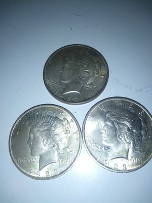 3 Peace dollar for Sale in High Point, NC