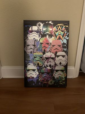 Wall art Star Wars Brand new for Sale in Miami, FL