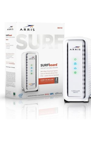 Arris surfboard SB6183 cable modem for Sale in Newport Beach, CA