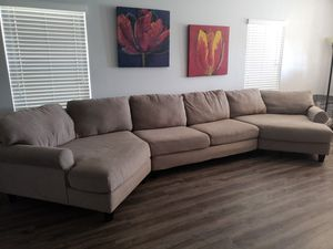 Large couch/ sectional for Sale in Hudson, FL