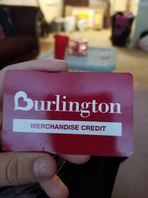 Burlington card for Sale in Port Richey, FL