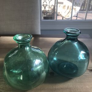 2 Glass Vases for Sale in Valley Stream, NY