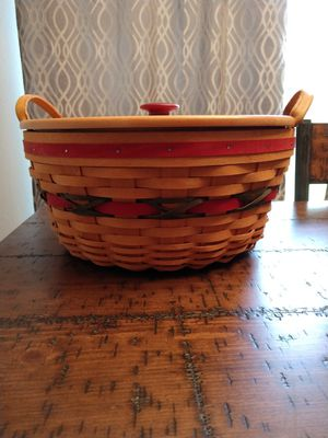 Longaberger Pine Cone Basket for Sale in Jacksonville, NC